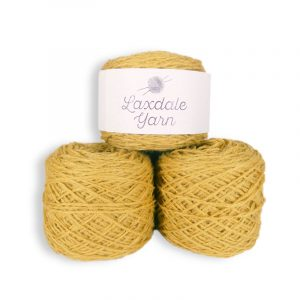 Laxdale Yarn Yellow