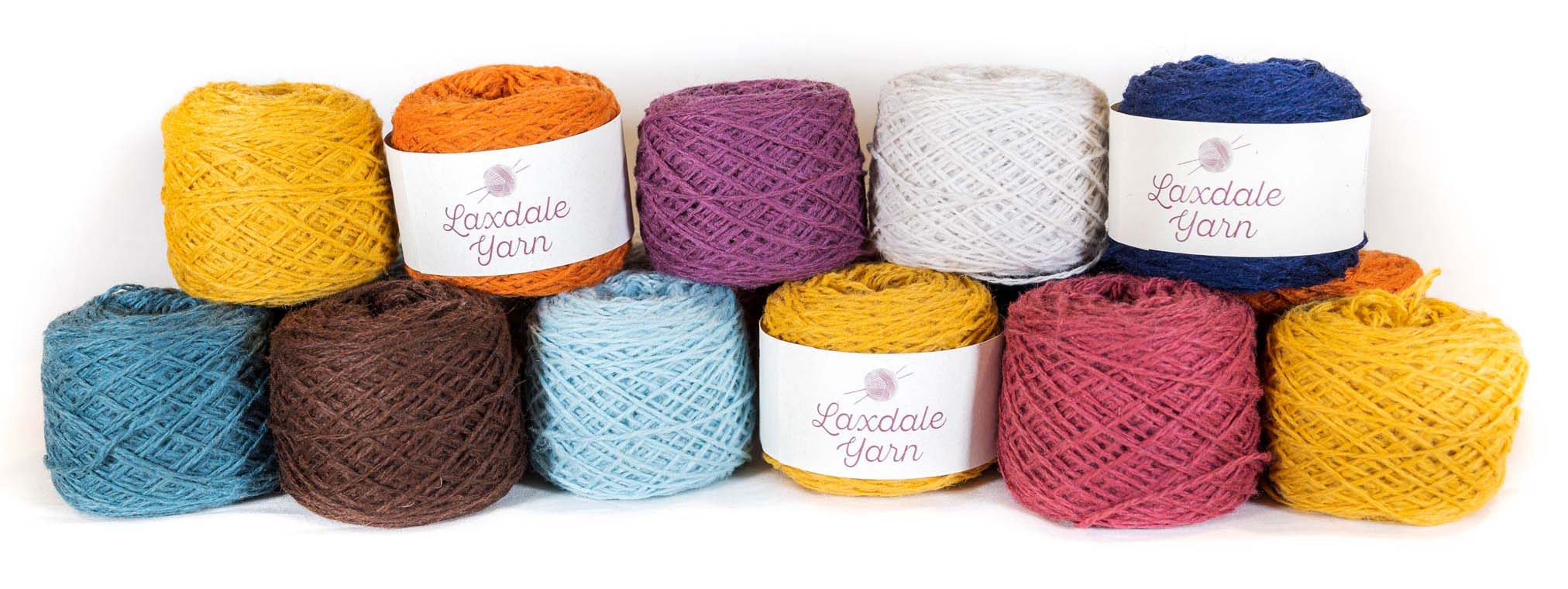 100% Pure Shetland Yarn